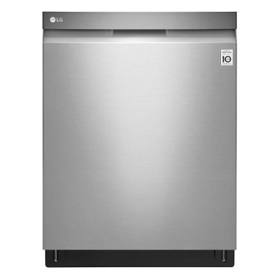LDP6797ST LG Recessed Handle Smart Dishwasher with Third Rack - Stainless Steel