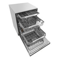 Lg Dishwasher With Third Rack Black Stainless Steel