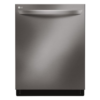 LDT7797BD LG Dishwasher with 3rd Rack - Black Stainless Steel