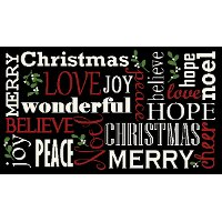 2 x 3 Outdoor Christmas Rug