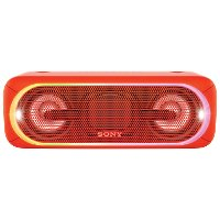 SRSXB40,RED Red Sony SRS-XB40 Portable Speaker with Lights