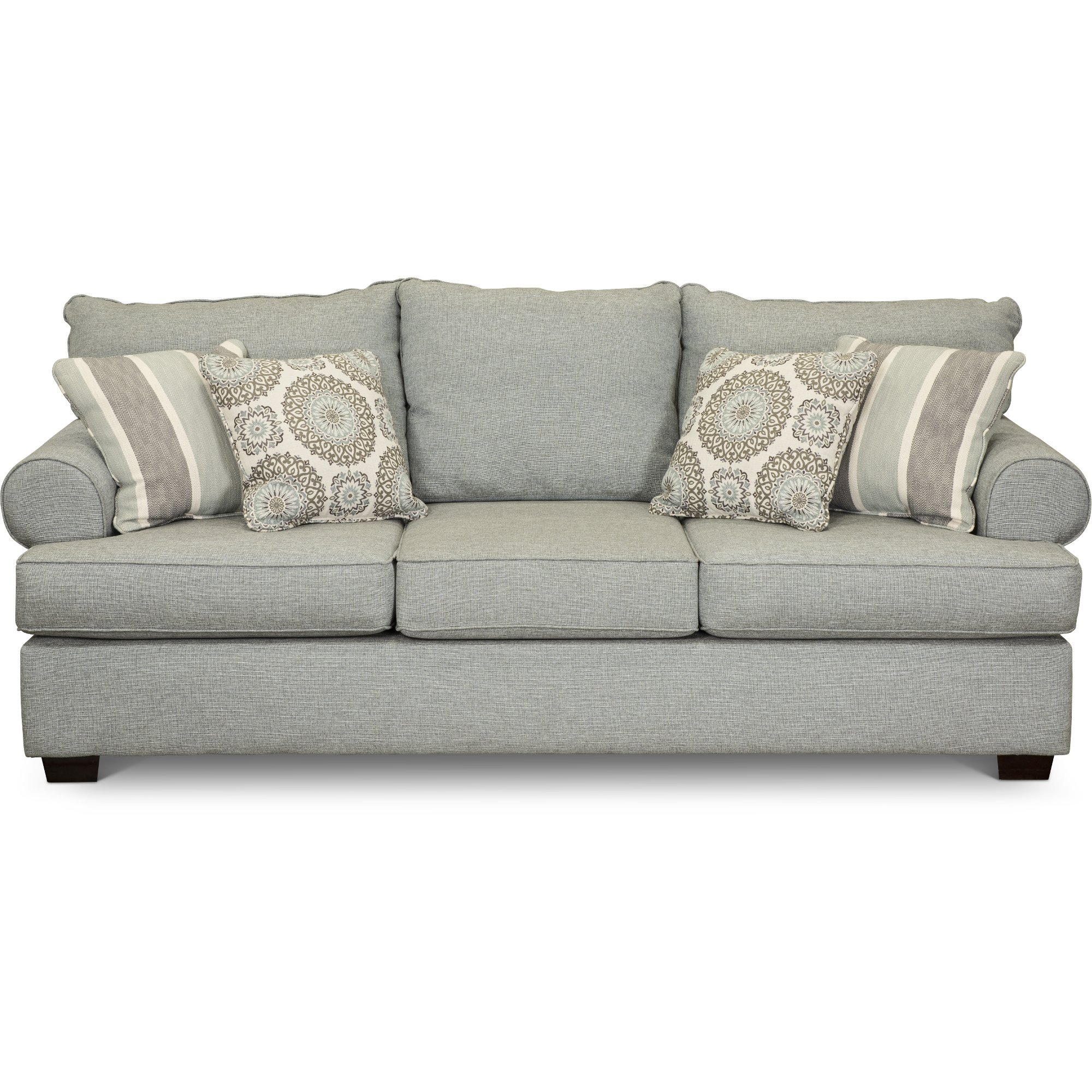 Shop couches and sofas for sale rc willey furniture store casual classic mist green sofa alison parisarafo Images