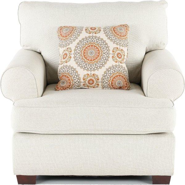 Superbe ... Casual Classic Linen Chair   Alison