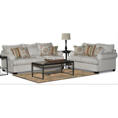 Casual Classic Linen 2 Piece Room Group