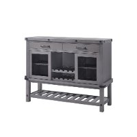 HM4290-SE/SERER Gray Dining Server - Factory