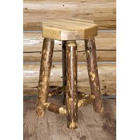 MWGCBN24 Counter Height Bar Stool - Glacier