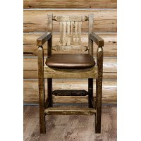 MWHCBSWCASSLSADD24 Counter Height Captain's Bar Stool - Homestead