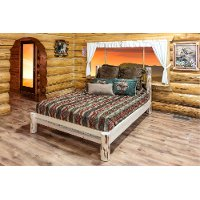 MWPBTV Twin Platform Bed - Montana