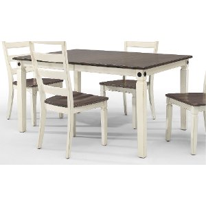 White Leg Dining Table