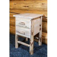 MWN2DNV Nightstand with 2 Drawers - Montana