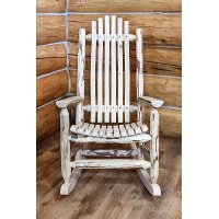 MWLRV Adult Log Rocker - Montana