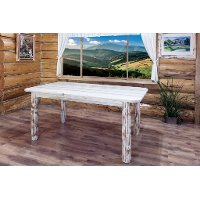 MWDT4PV 4 Post Dining Table - Montana