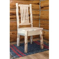 MWKSCNV Ergonomic Wooden Chair - Montana