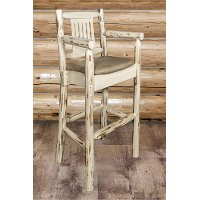 MWBSWCASVBUCK Captain's Bar Stool w/ - Montana