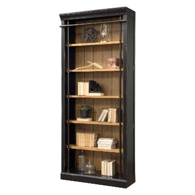 Black/Honey Bookcase - Toulouse