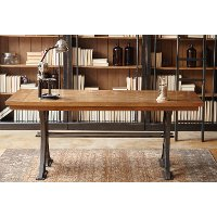 Honey Brown Writing Desk - Toulouse