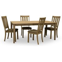 Sandstone Traditional 5 Piece Dining Set - Sun Valley