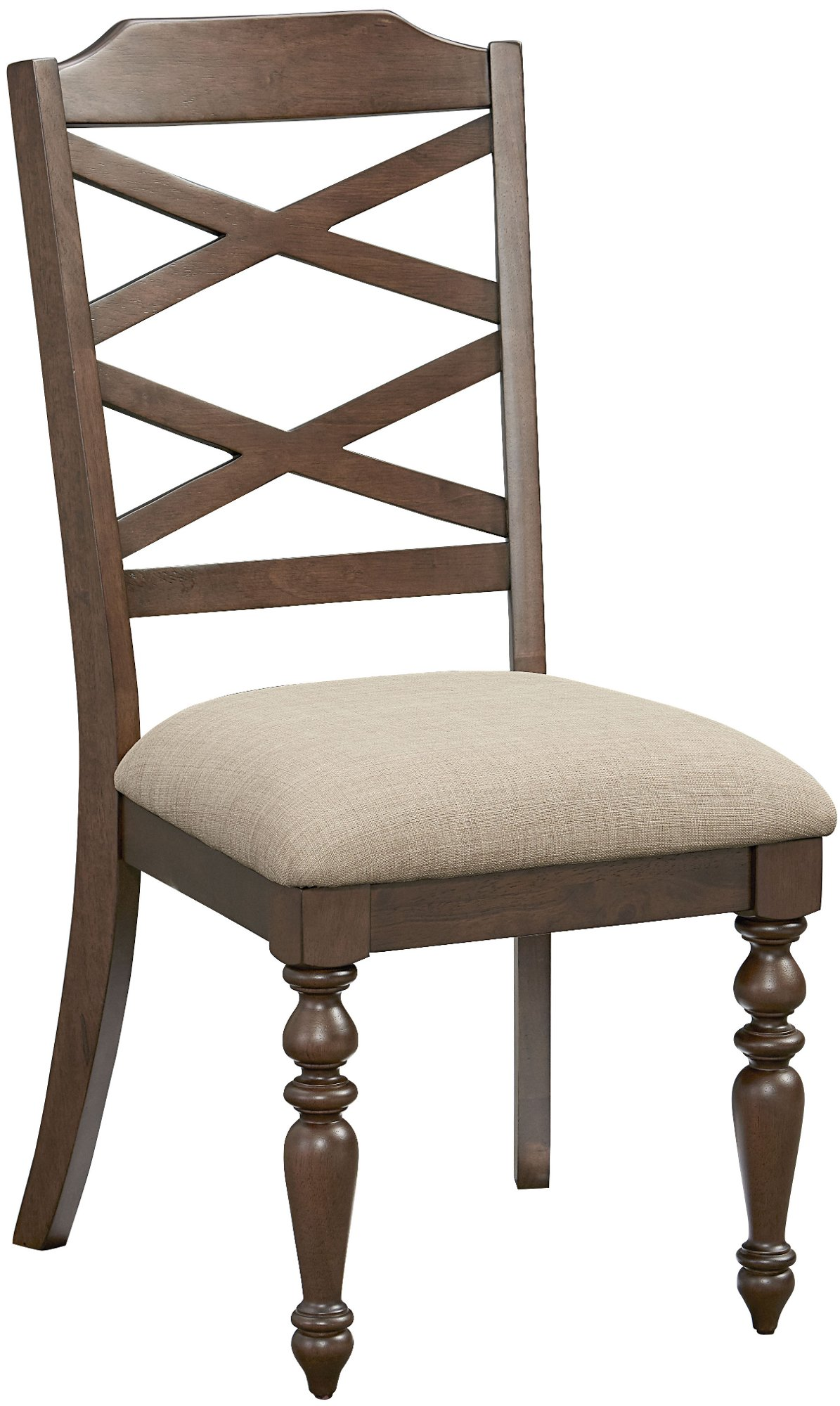 Cherry Traditional Dining Chair   Larson Collection