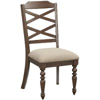 Cherry Traditional Dining Chair - Larson Collection