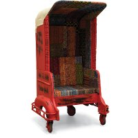Rickshaw Red 1-Seat Chair - Highway