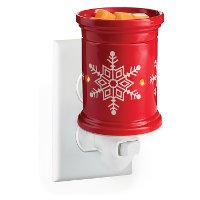 PILSN Red Snowflake Pluggable Fragrance Warmer - Candle Warmers