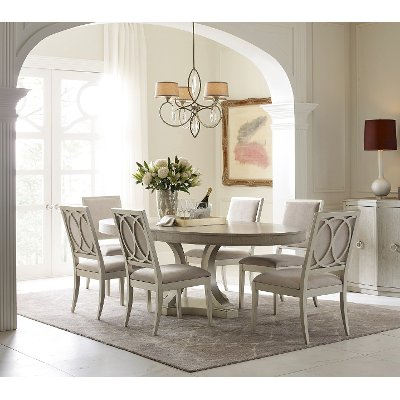 Clearance Gray Contemporary 5 Piece Dining Set   Cinema