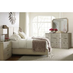 King size bed  king frame bedroom sets RC Willey Furniture Store