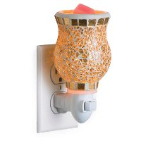 PIGLD Gilded Glass Pluggable Fragrance Warmer - Candle Warmers
