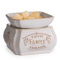 CWDFF Faith Family Friends 2-in-1 Fragrance Warmer - Candle Warmers