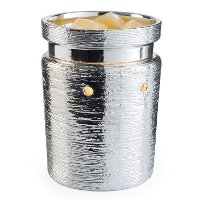 RWBCR Brushed Chrome Illumination Fragrance Warmer - Candle Warmers