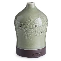 Jade Green Crackle Perennial Airome Ultrasonic Oil Diffuser - Candle Warmers