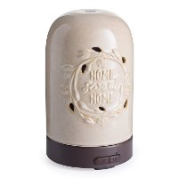 Tan and Brown Home Sweet Home Airome Ultrasonic Oil Diffuser - Candle Warmers