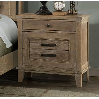 654-030/NIGHTSTAND Casual Classic Natural Nightstand - Eden Park