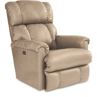 P10-512/LB133465/USB Sand Tan Power Rocker Recliner - Pinnacle