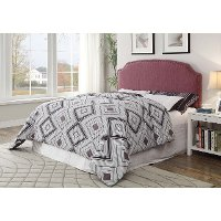 IDF-7880PR-HB-FQ Purple Upholstered Full-Queen Headboard - Mira