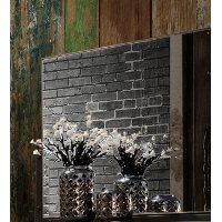 Modern Rustic Brown Mirror - Forge