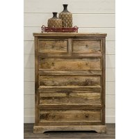 Rustic Natural Chest of Drawers - Thurston