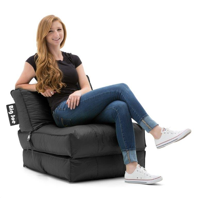 0634602 Big Joe Flip Lounger Black SmartMax