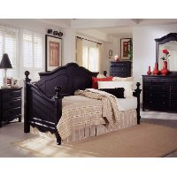 Onyx Black Classic Traditional Daybed - Town & Country