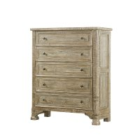 Classic Weathered Pine Chest of Drawers - Interlude II