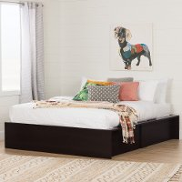 10697 Ottoman Queen storage bed (60 Inch ) - Step One