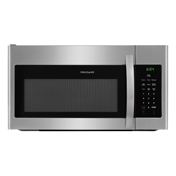 Stainless Steel31999 Ffmv1645ts Frigidaire Over The Range Microwave 1 6 Cu Ft Steel