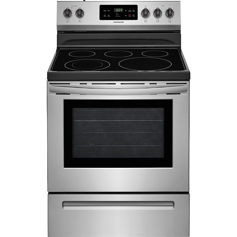 Kitchen Stoves: Frigidaire Stainless Steel 4 Piece Electric Kitchen