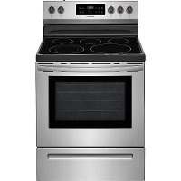 FFEF3054TS Frigidaire Electric Range with One-touch Self Clean - 5.3 cu. ft. Stainless Steel
