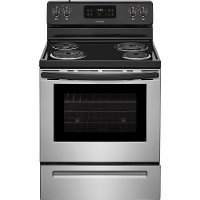 FFEF3016TS Frigidaire Electric Range with Store-More Storage Drawer - 5.3 cu. ft. Stainless Steel