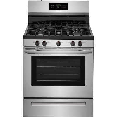 FFGF3054TS Frigidaire Gas Range with Timed Cook Option - 5.0 cu. ft. Stainless Steel