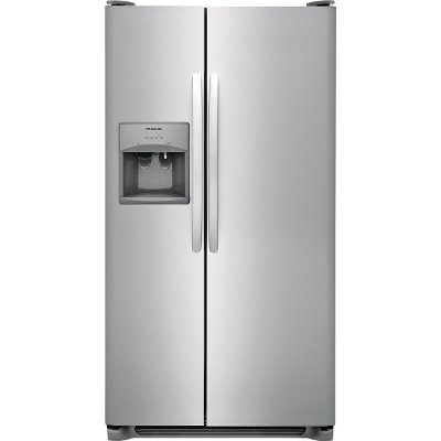 FFSS2615TS Frigidaire 25.5 cu. ft. Side-by-Side Refrigerator - 36 Inch Stainless Steel