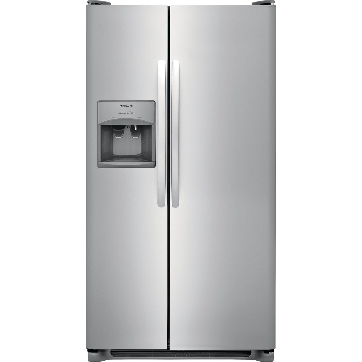 Frigidaire Side By Side Refrigerator   36 Inch Stainless Steel | RC Willey  Furniture Store