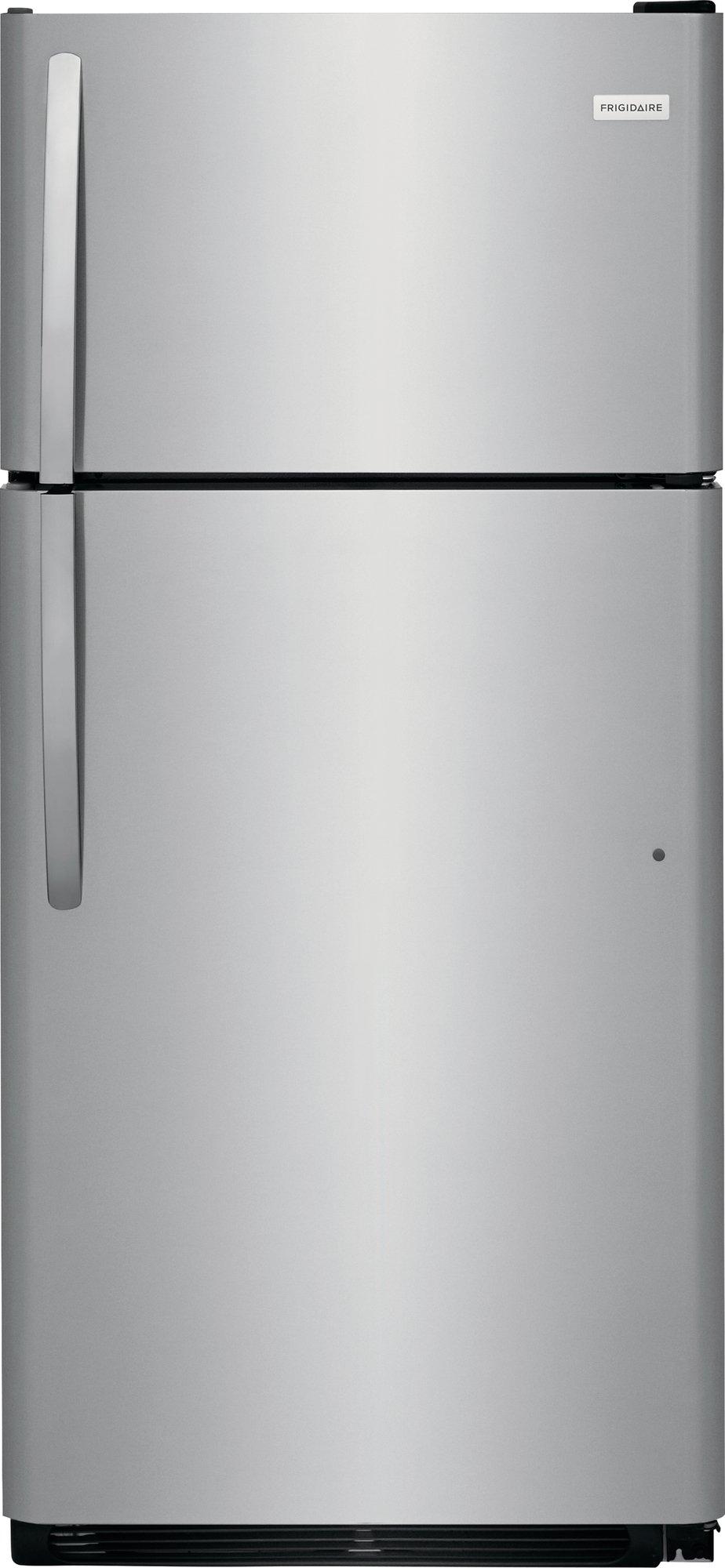 FFTR1821TS Frigidaire 30 Inch Top Freezer Refrigerator - Stainless Steel