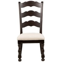 Smoked Molasses Ladder Back Dining Chair - Caldwell